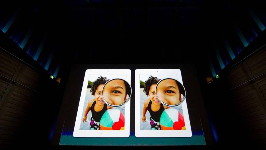 Apresentação do Ipad3 da Apple em São Francisco, nos Estados Unidos
