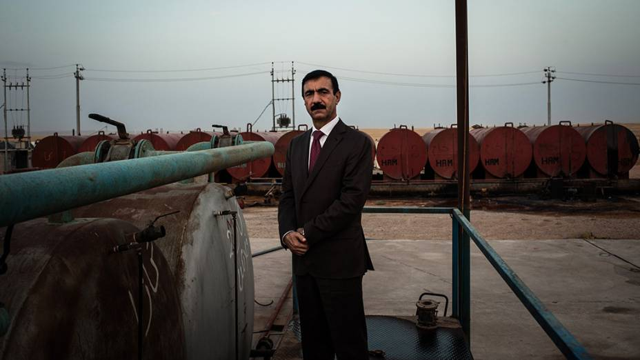 """O """"Guru"""" do petróleo Majeed Sourchy, dono das refinarias Hawler e Milet"""