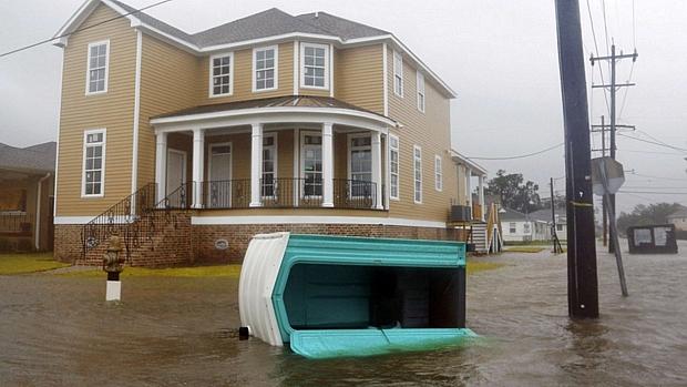 Alerta: bairros de Nova Orleans foram inundados
