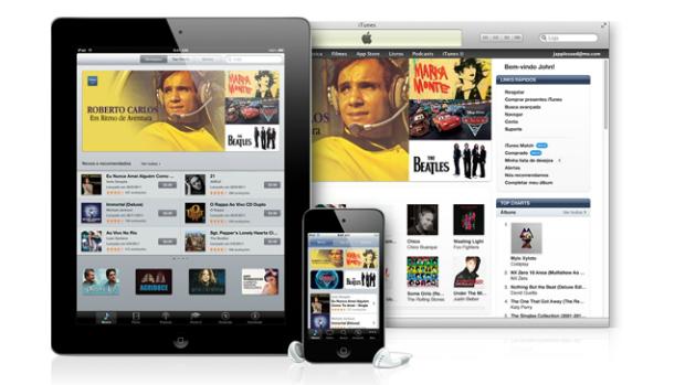 iTunes estreou no Brasil com um catálogo de 20 milhões de canções