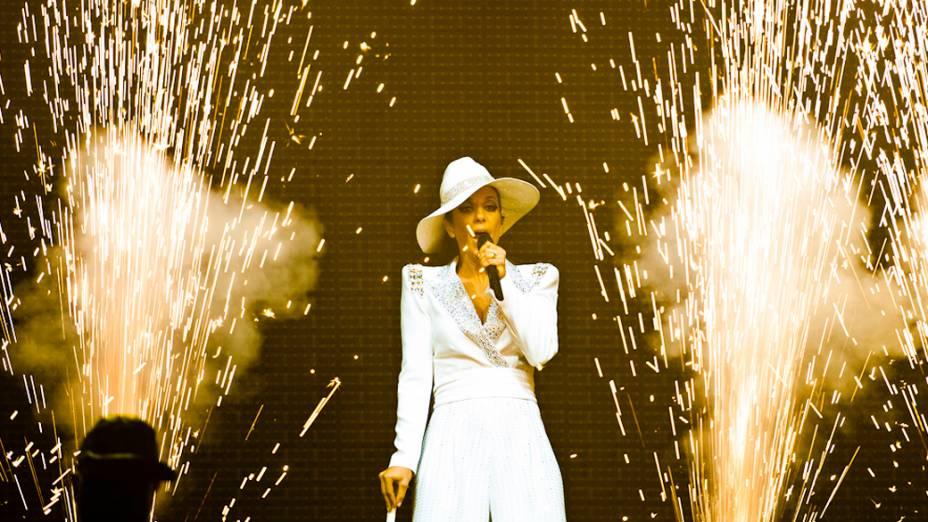 Ivete Sangalo durante o show no palco Mundo, no quinto dia do Rock in Rio, em 30/09/2011