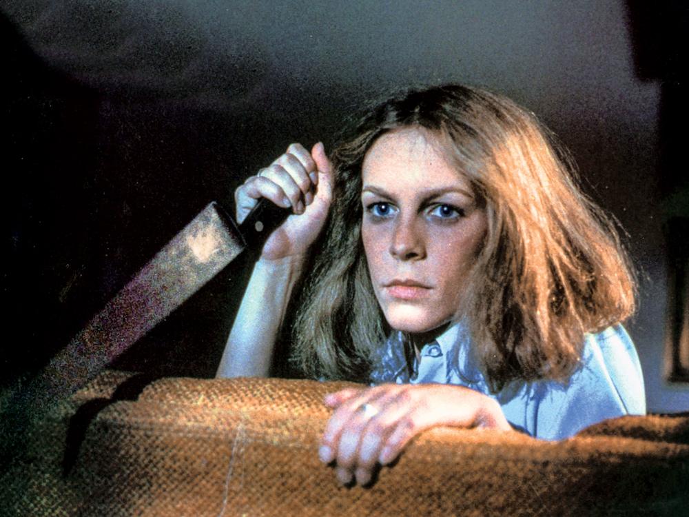 Jamie Lee Curtis em 'Halloween: A Noite do Terror' (1978)