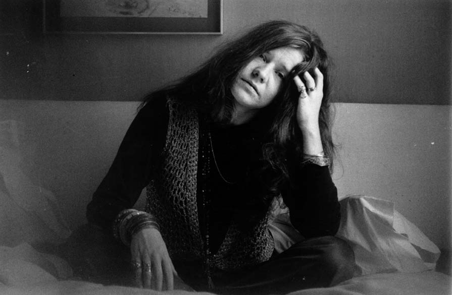 A roqueira Janis Joplin em abril de 1969