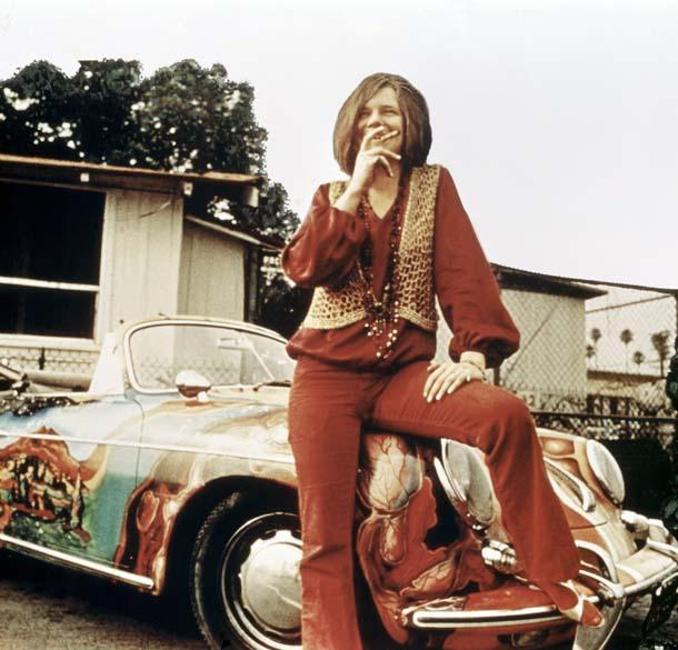 Janis Joplin no início dos anos 1960