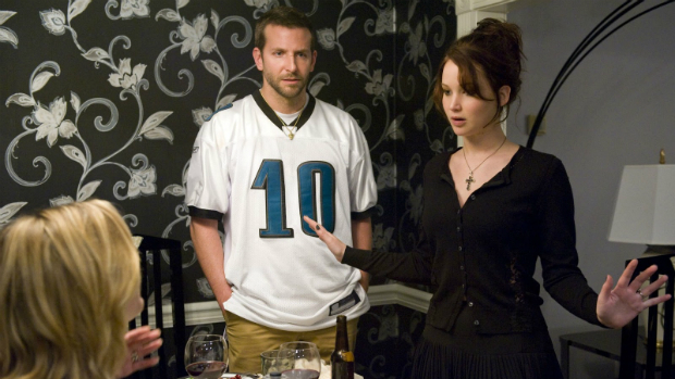 Jennifer Lawrence no filme O Lado Bom da Vida