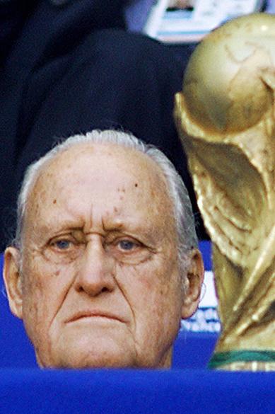 João Havelange, presidente da FIFA em 1998