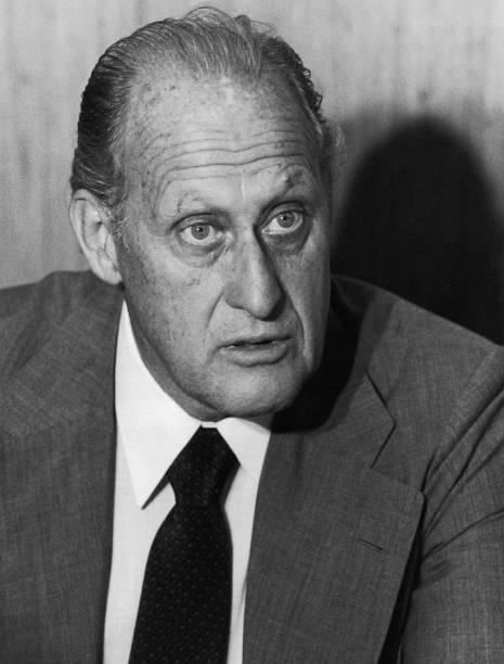 João Havelange, presidente da Fifa, em 1979