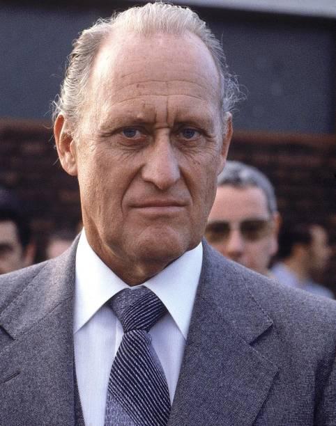 João Havelange em 1980, quando era presidente da Fifa