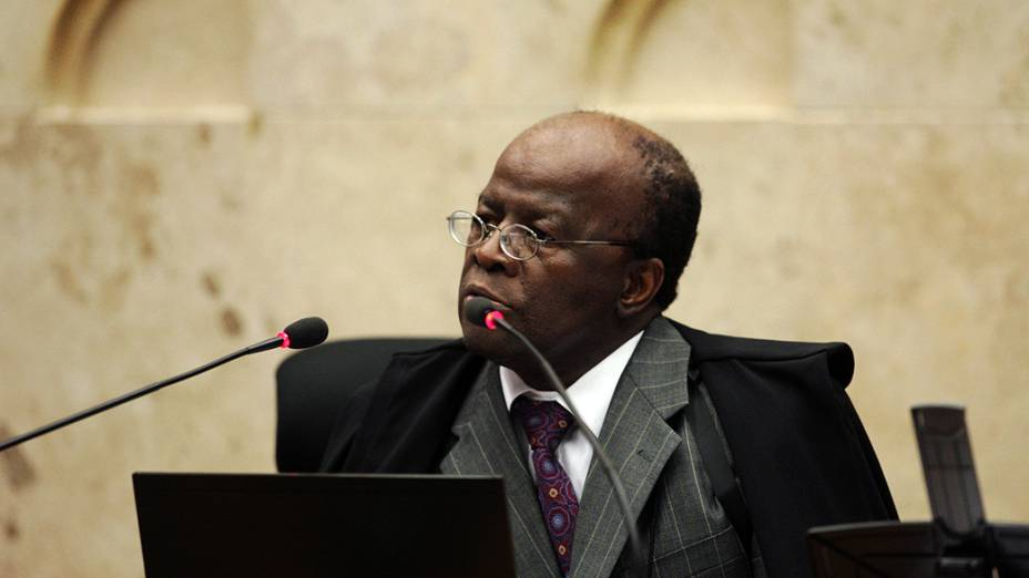Joaquim Barbosa, como presidente do STF e relator do Mensalão