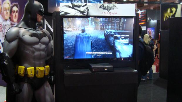 Jogo Batman: Arkham City na Brasil Game Show