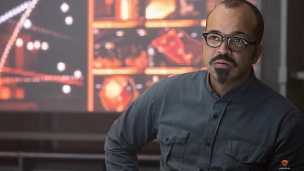 Jeffrey Wright como o personagem Beetee em Jogos Vorazes: A Esperança - Parte 1