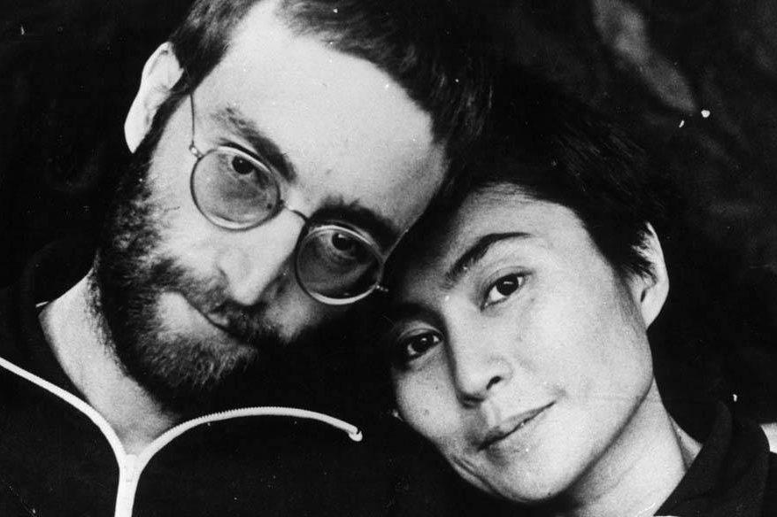 John Lennon e Yoko Ono, em janeiro de 1970