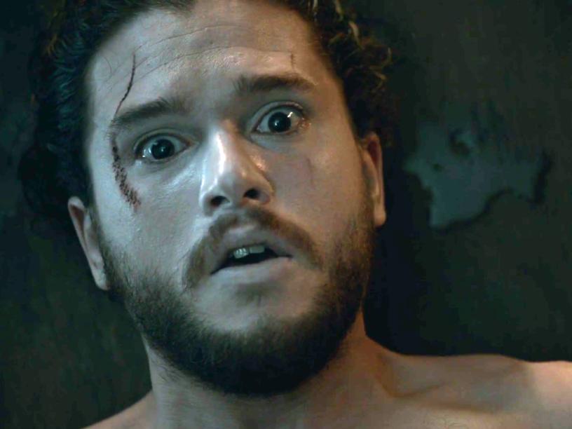 Jon Snow (Kit Harington) ressuscita em Game of Thrones