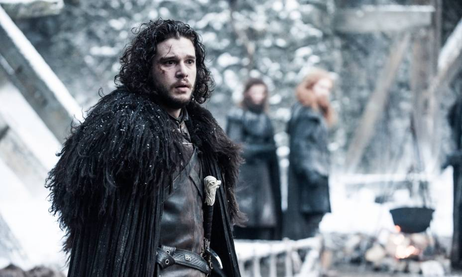Jon Snow (Kit Harington) na quinta temporada de Game of Thrones