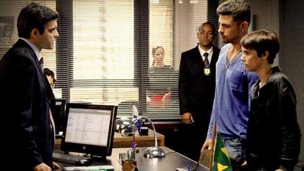 Jorginho e Nina são presos