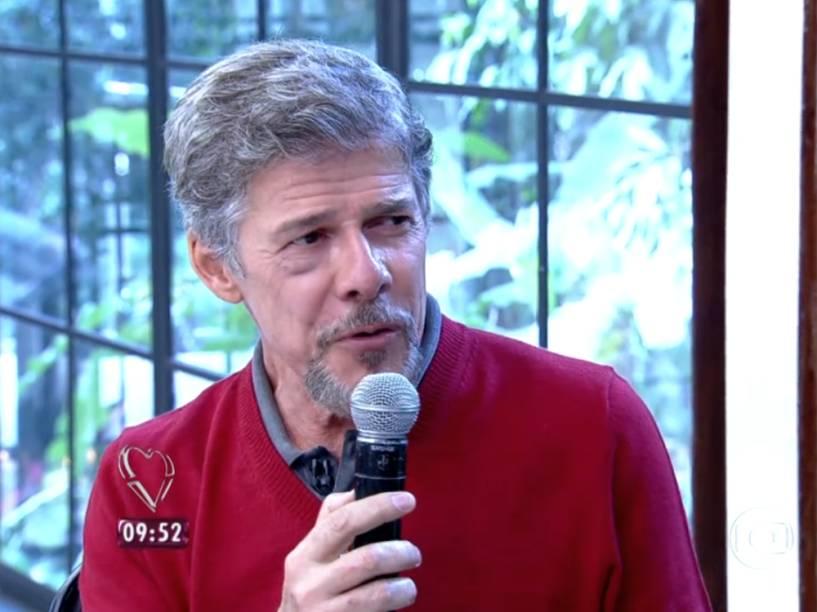 José Mayer critica novelas em conversa com Ana Maria Braga, no programa Mais Você