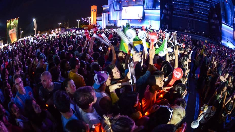 Apresentação do Jota Quest no terceiro dia do Rock in Rio 2013
