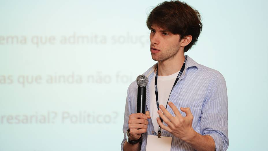 Paulo Orenstein, ganhador do Prêmio Jovens Inspiradores 2012
