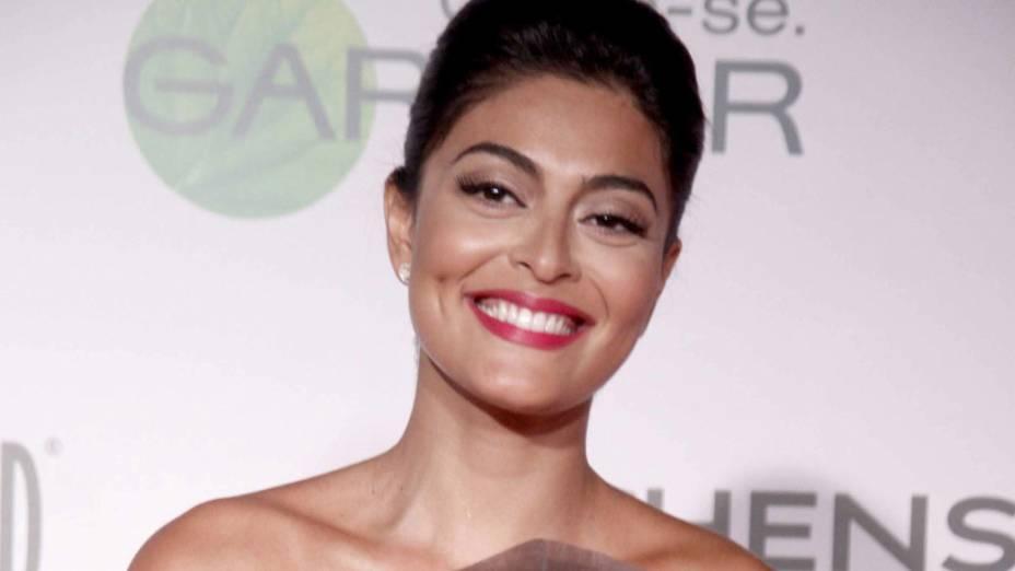 Juliana Paes no Prêmio Contigo 2010