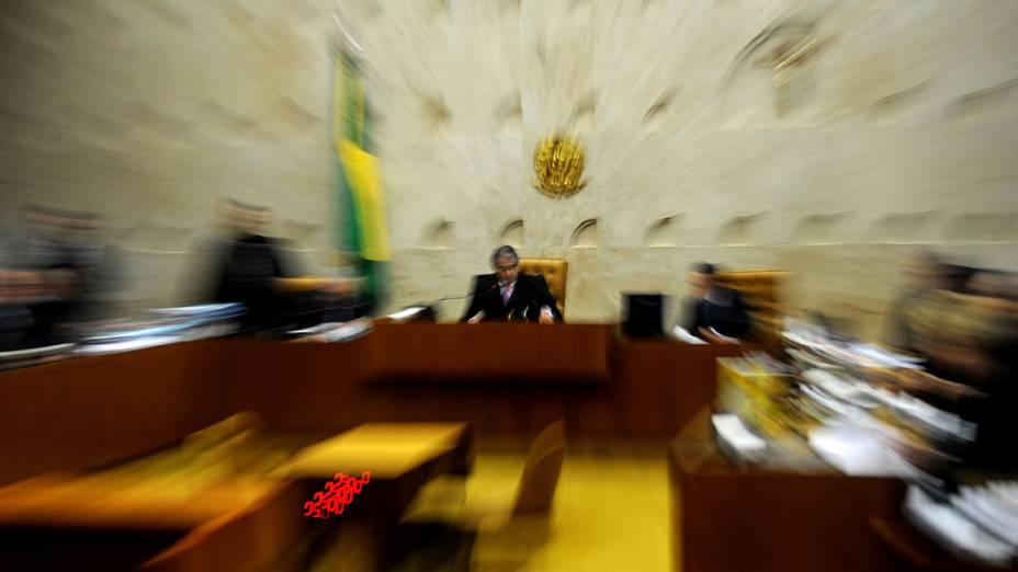 Julgamento do mensalão no Supremo Tribunal Federal, em Brasília
