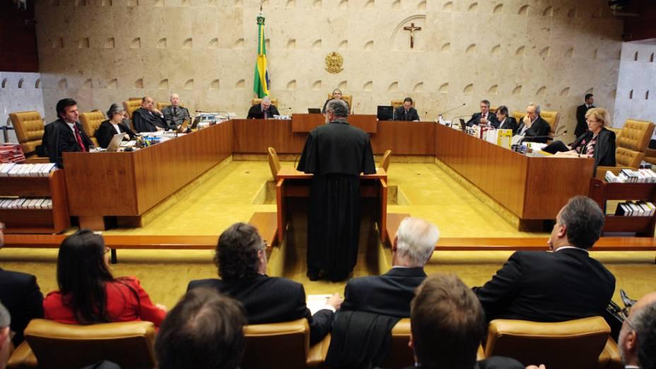 Julgamento do mensalão prossegue com sustentações orais de defesa no STF, em 07/08/2012