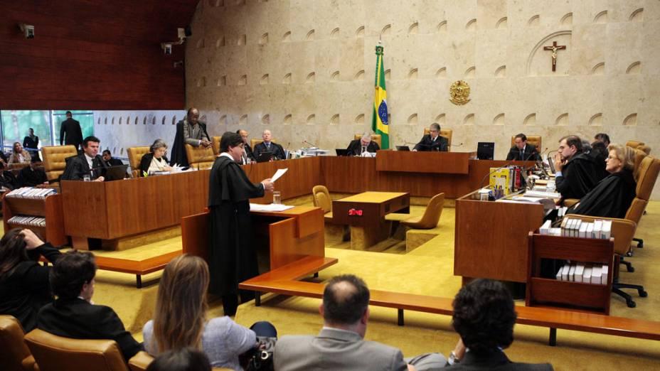 STF retoma o julgamento do mensalão, em 09/08/2012