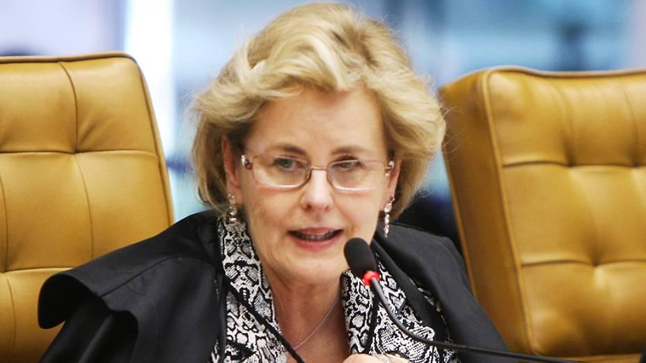 Ministra Rosa Weber profere voto sobre crimes de lavagem de dinheiro