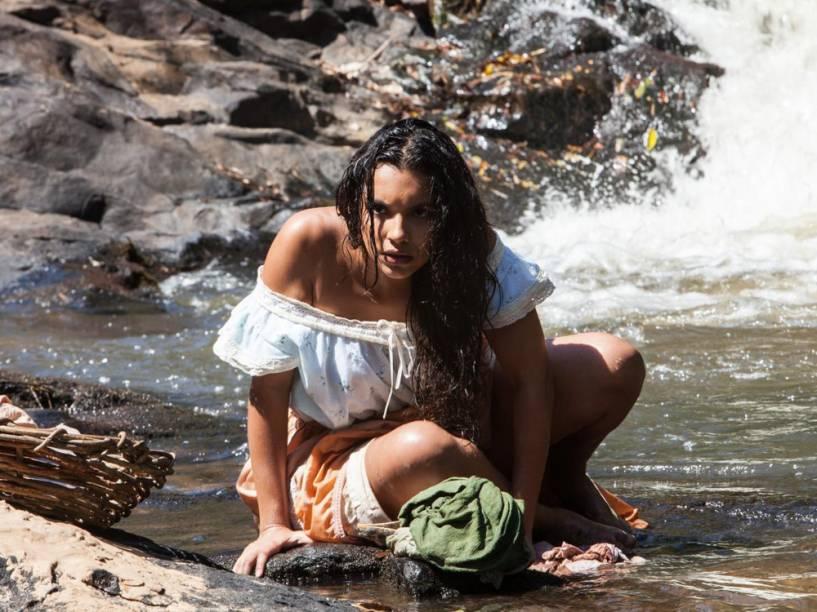 Juliana (Gabriela Moreyra), a protagonista de Escrava Mãe