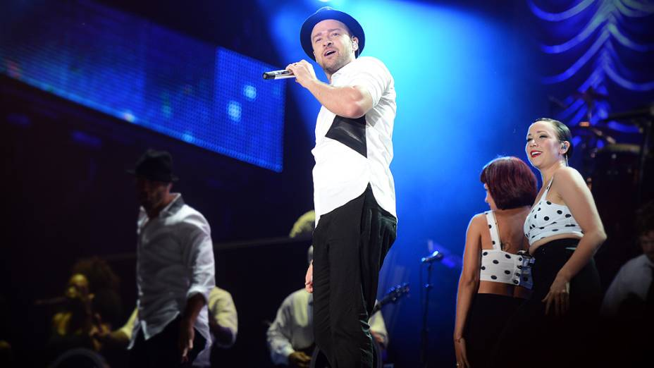 Justin Timberlake no terceiro dia do Rock in Rio 2013