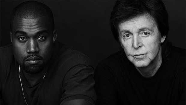 Kanye West e Paul McCartney