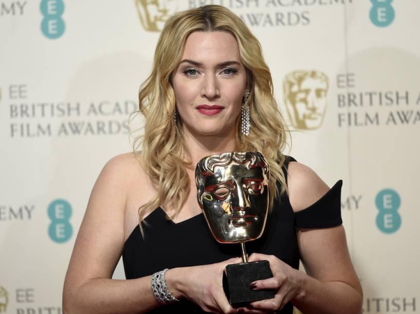 Kate Winslet vence o Bafta de melhor atriz coadjuvante