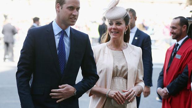 Príncipe William e Kate Middleton no 60º aniversário de coroação da rainha Elizabeth II