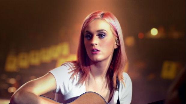 Katy Perry em cena do filme Part of Me