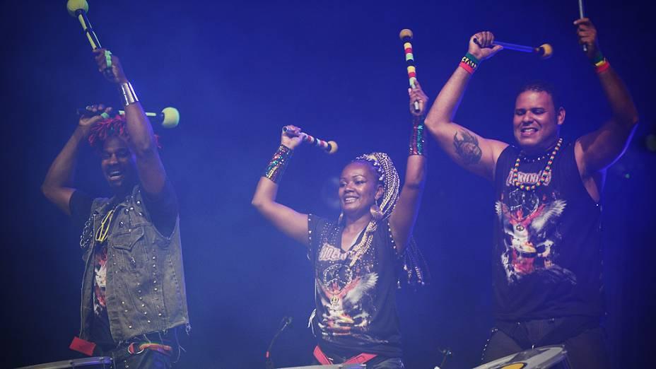 Kimbra & Olodum no terceiro dia do Rock in Rio
