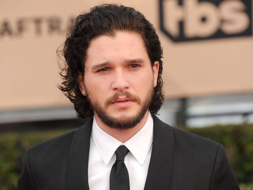 Kit Harington chega ao Screen Actors Guild Awards, em Los Angeles, California, em janeiro de 2016