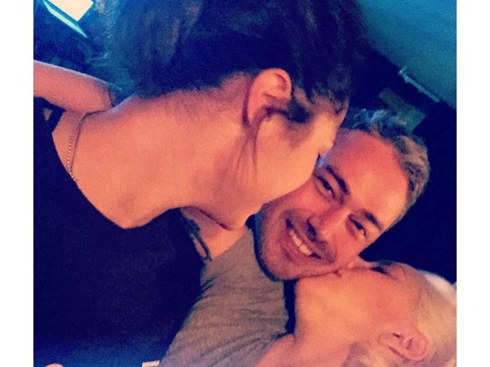 Lady Gaga, Taylor Kinney e Monica Raymund