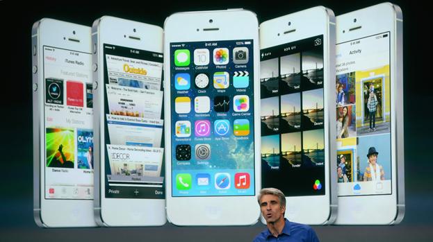 Apresentação do sistema iOS7