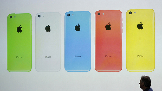 Modelo 5C do iPhone