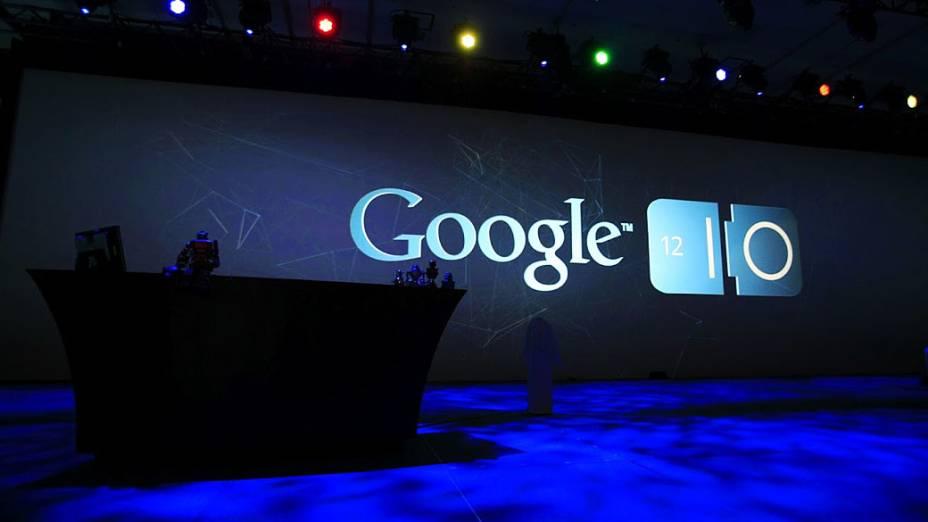 Google apresenta suas novidades durante conferência Google I / O no Moscone Center em San Francisco, Califórnia