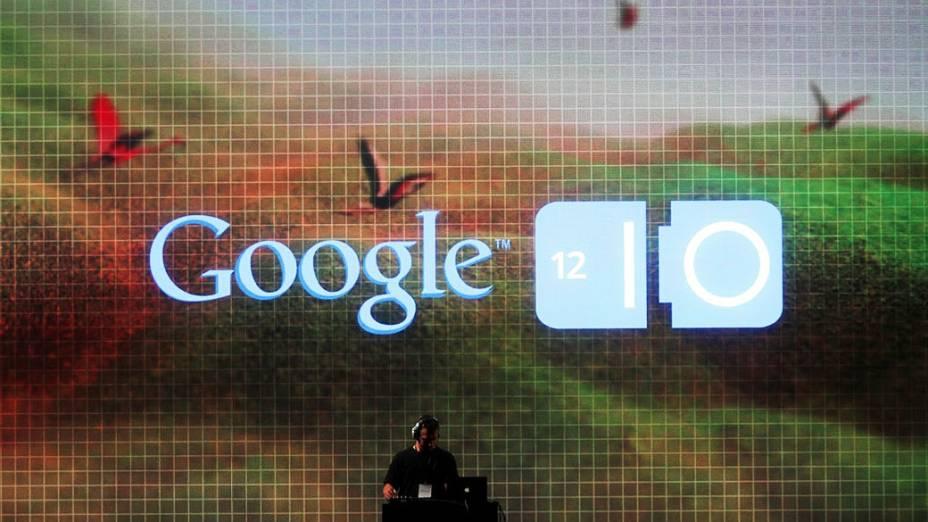 Google apresenta suas novidades durante conferência Google I / O no Moscone Center em São Francisco, Califórnia