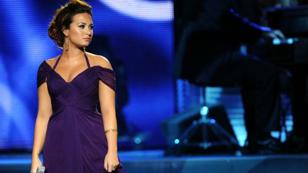 Demi Lovato no Grammy Latino, em 2011