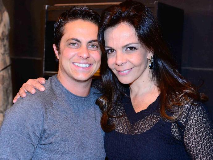 Thammy Miranda e a tia, a cantora Sula Miranda