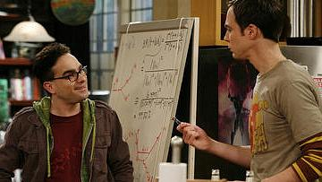 Leonard e Sheldon, personagens do seriado The Big Bang Theory