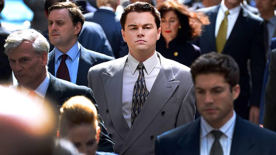 <p>Leonardo DiCaprio é Jordan Belfort em O Lobo de Wall Street</p>