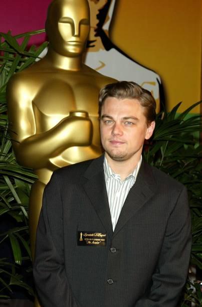 <p>Na cerimônia do Oscar em 2005, quando foi indicado como melhor ator por sua participação em <em>O Aviador</em>.</p>