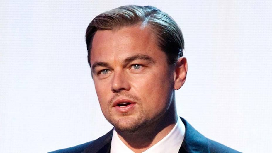<p>O ator Leonardo DiCaprio</p>