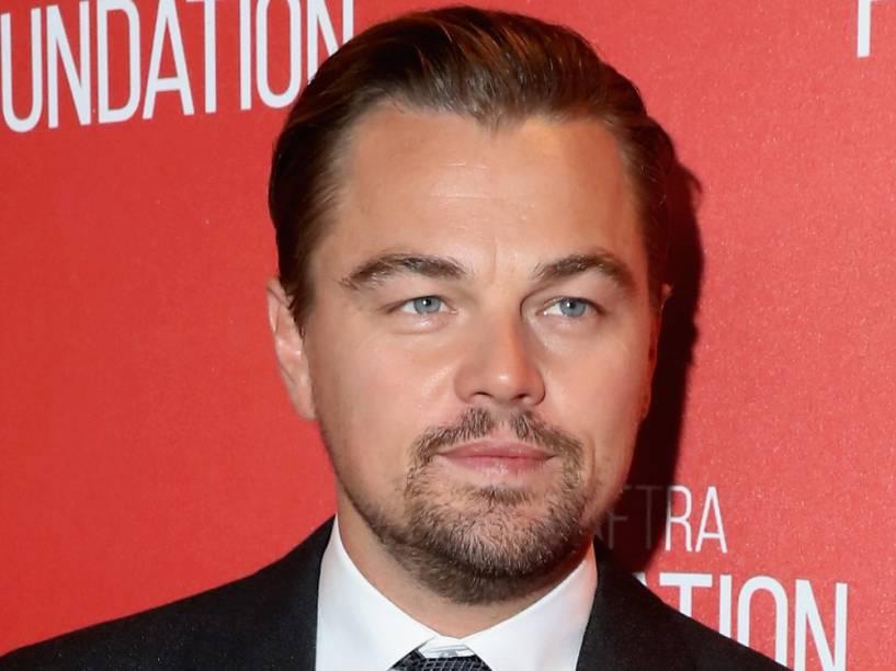 <p>Leonardo DiCaprio durante o Screen Actors Guild Foundation, em 2015</p>