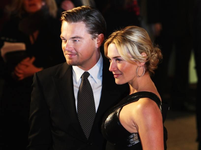 <p>Leonardo DiCaprio e Kate Winslet</p>