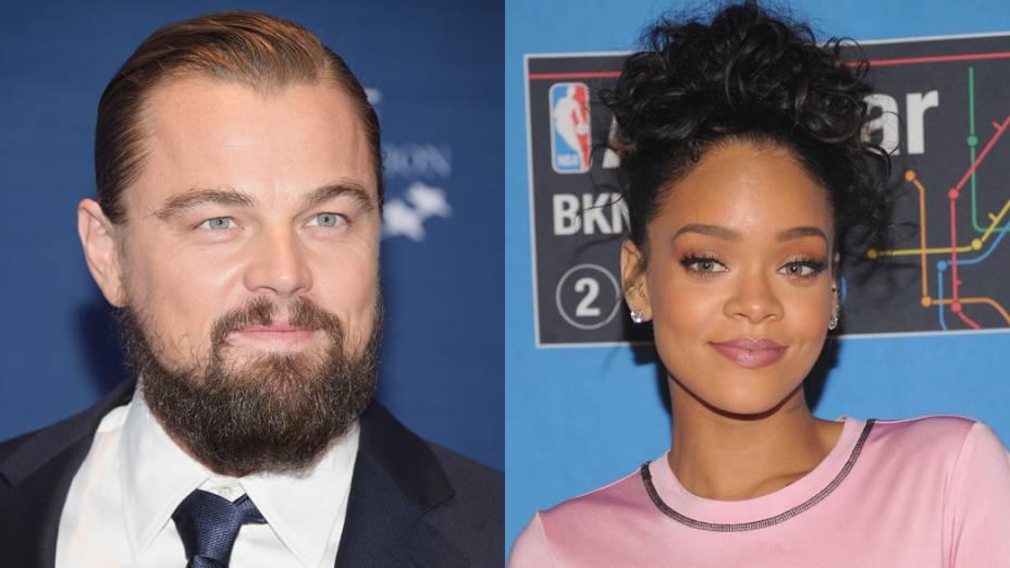 <p>Leonardo DiCaprio e Rihanna</p>