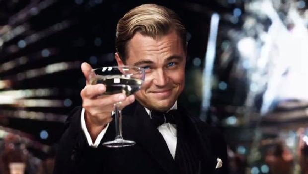<p>Leonardo DiCaprio em cena de O Grande Gatsby</p>